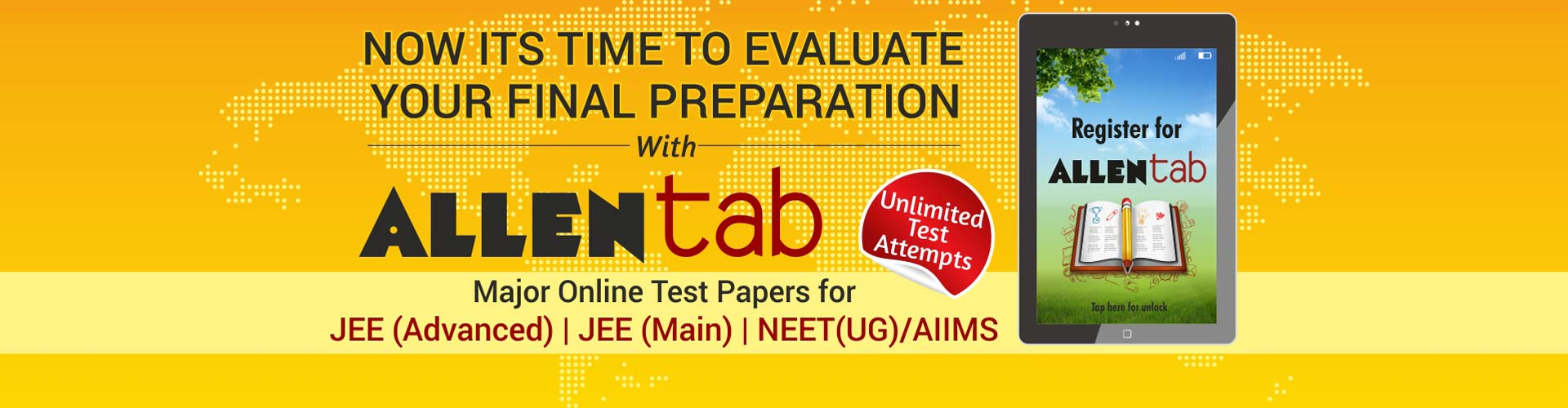 ALLENtab Major Test Series