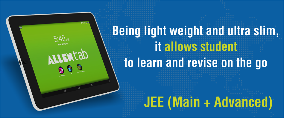 Best E-Learning Tablet for IIT-JEE (Advanced) Exam